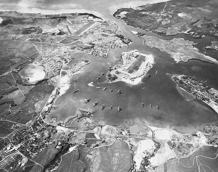 開戦直前の真珠湾
